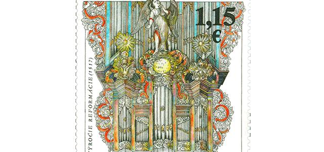 Reformačná poštová známka