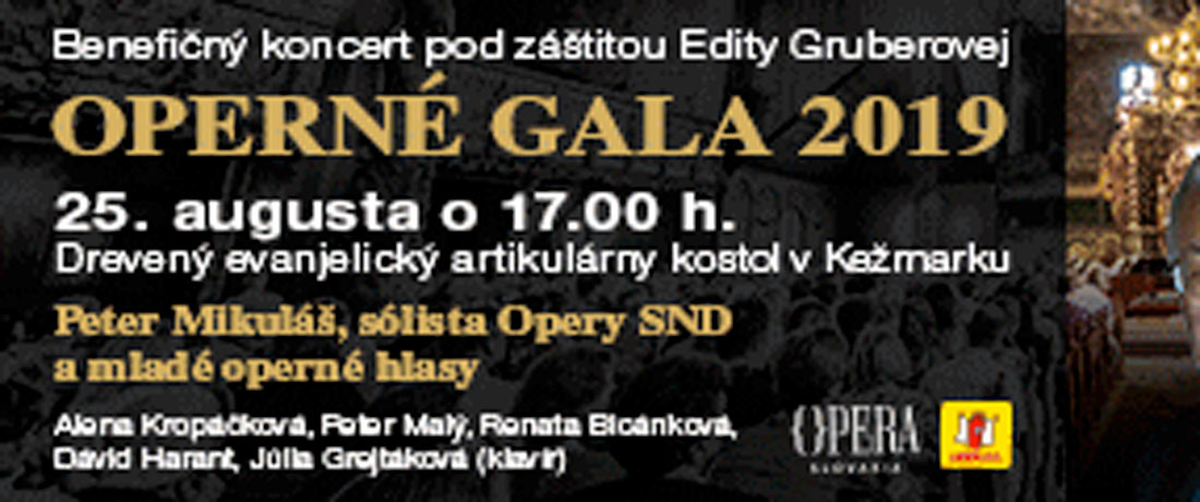 Operné gala 2019