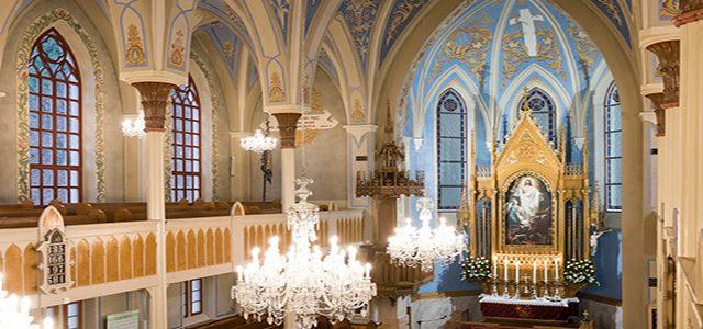 Kostol v Dolnom Kubíne po generálnej oprave