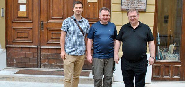 Dištriktuálny biskup rokoval s riaditeľom Hoffnung für Osteuropa