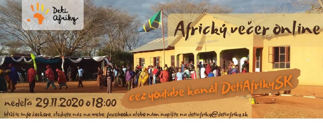 Africký večer online