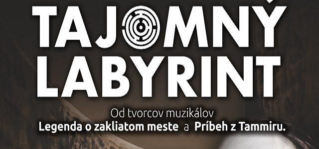 Pozvanie na divadelné predstavenie Tajomný labyrint