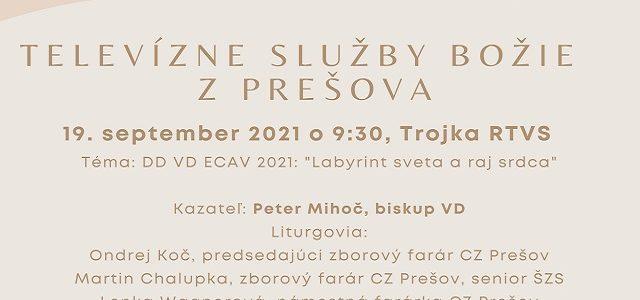 Televízne Služby Božie z Prešova